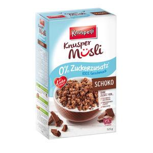 Müsli Schoko 0 Prozent Zuckerzusatz 525g