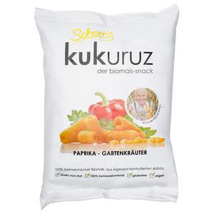 Bio Kukuruz Maissnack Paprika Gartenkräuter 80g
