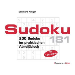 Sudoku Block 181 (5 Exemplare à 2,99 )