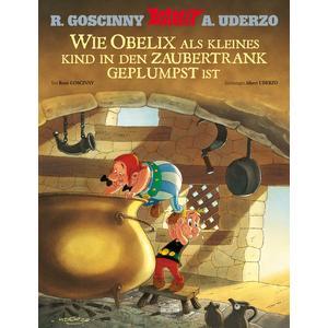 Asterix - Wie Obelix als kleines Kind in den Zaubertrank geplumpst ist