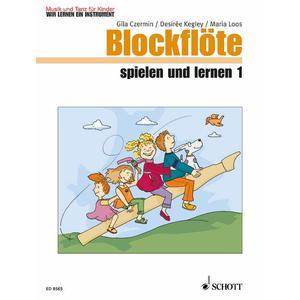 Blockflöte spielen und lernen - Kinderheft 1