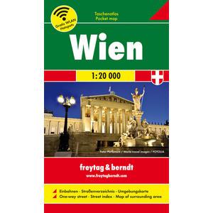 TA 01 Taschenatlas Wien 1:20000