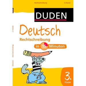 Duden Deutsch in 15 MinutenRechtschreibung 3.Kl