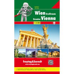 PL 10 Riesenatlas Wien Grossraum 1:15000