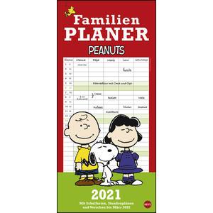 Peanuts Familienplaner 2021