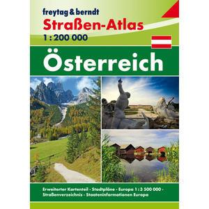 OEAA 1 Straßen-Atlas Österreich 1:200000