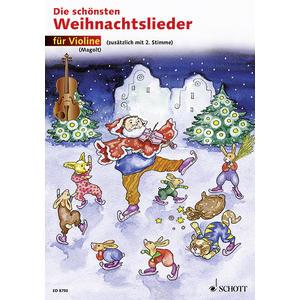 Die schönsten Weihnachtslieder für 1 oder 2 Violinen