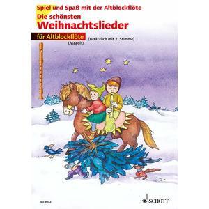 Die schönsten Weihnachtslieder - 1-2 Alt-Blockflöten