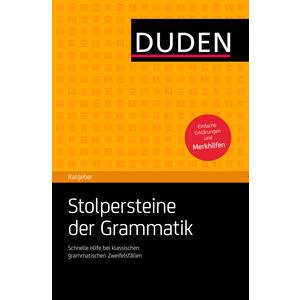 Duden Ratgeber - Stolpersteine d.Grammatik