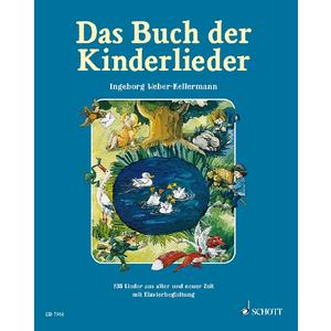 Das Buch der Kinderlieder - gebundene Ausgabe