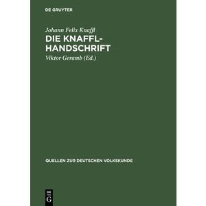 Die Knaffl-Handschrift