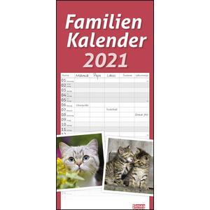 tm Katzen Familienplaner 2021