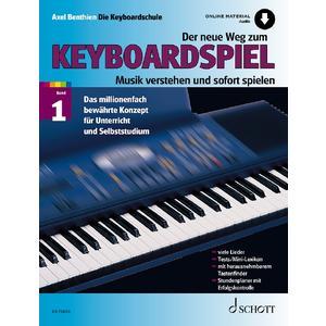 Der neue Weg zum Keyboardspiel Band 1 - Lehrbuch