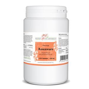 Rosenwurz Tabletten à 630mg (Rhodiola rosea), 1330 Tabletten