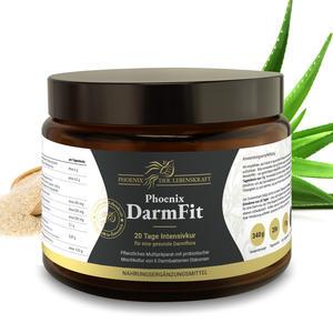 DarmFit Pulver - 20 Tage Intensiv Darmkur mit Darmbakterien, 340g