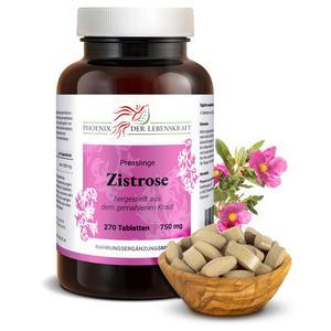 Zistrose Tabletten à 750mg (Cistus incanus, Cistrose), 270 Tabletten