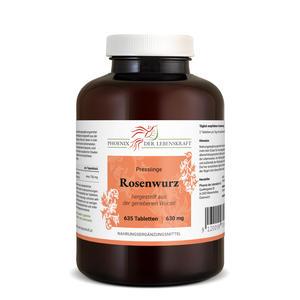 Rosenwurz Tabletten à 630mg (Rhodiola rosea), 635 Tabletten