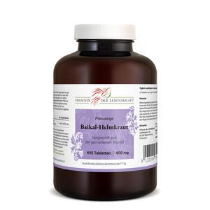 Baikal-Helmkraut Tabletten à 800mg (Scutellaria baicalensis), 495 Tabletten