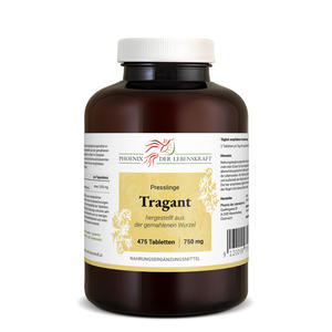Tragant Tabletten à 750mg (Astragalus membranaceus), 475 Tabletten