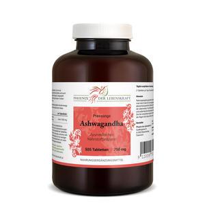 Ashwagandha Tabletten à 750mg (Indischer Ginseng, Schlafbeere), 505 Tabletten