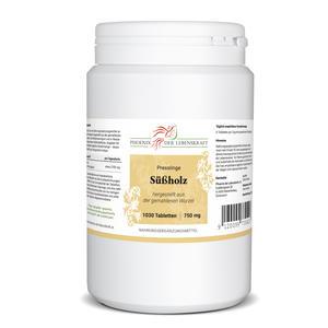 Süßholz Tabletten à 750mg (Glycyrrhiza glabra, Süßholzwurzel), 1030 Tabletten