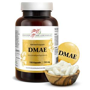 DMAE à 755mg (N,N-Dimethylethanolamin), 150 Kapseln