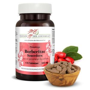 Berberitze (Sauerdorn) - Tabletten, 500 mg