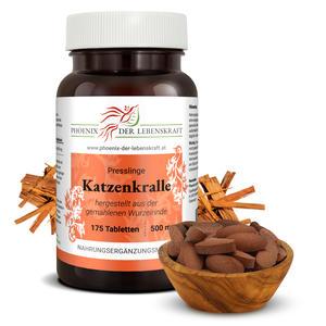 Katzenkralle (Uncaria tomentosa) - Tabletten, 500 mg