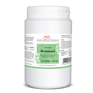 Brennessel Tabletten à 1000mg (Urtica dioica, Brennnessel), 760 Tabletten