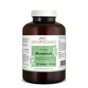 Brennessel Tabletten à 1000mg (Urtica dioica, Brennnessel), 345 Tabletten