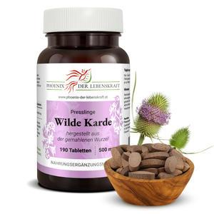 Wilde Karde - Tabletten, 500 mg