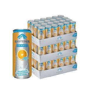 Gasteiner Orange 72 x 0,33L Dose - 3 Trays