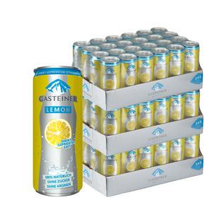 Gasteiner Lemon 72 x 0,33L Dose - 3 Trays