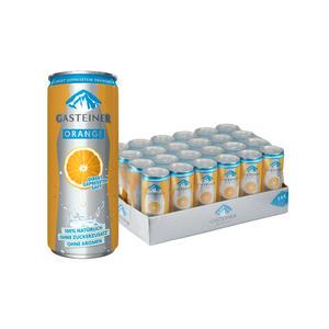 Gasteiner Orange 24 x 0,33L Dose - 1 Tray