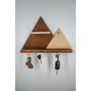 Schlüsselbrett aus Holz