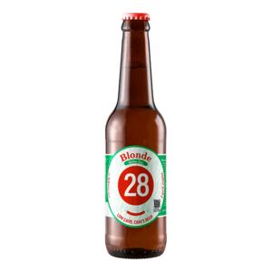 """Blonde """"glutenfrei"""" 0,33l 24 Flaschen Tray"""