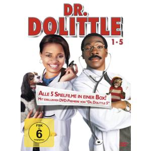 Dr. Dolittle Box 1-5 mit Eddie Murphy