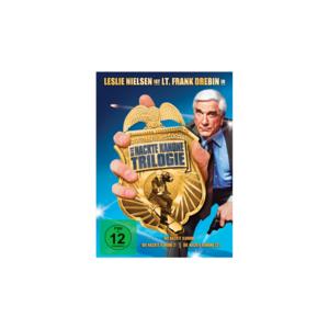 Die nackte Kanone - Trilogie (Teil 1+2+3) 3er DVD-BOX - NEU & OVP
