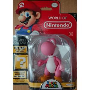 Super Mario - Pink Yoshi Figur