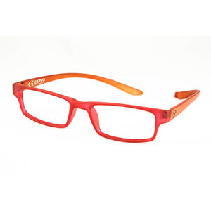 CERVO Fertiglesebrille rot/orange +1,00 dpt.