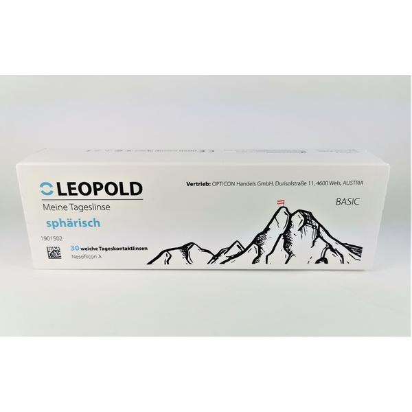 """Tageskontaktlinsen """"Leopold"""" -2,75 dpt."""