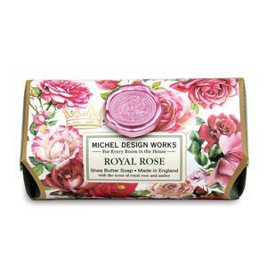 Badeseife 245 g - Royal Rose - von MICHEL DESIGN WORKS