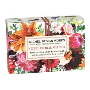 Handseife 125 g - Sweet Floral Melody - von MICHEL DESIGN WORKS