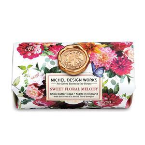Badeseife 245 g - Sweet Floral Melody - von MICHEL DESIGN WORKS