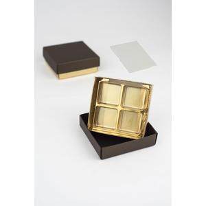 "Pralinenschachtel - Serie ""Bronze"" 4-er"