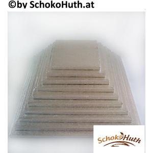 Cakeboard quadratisch 25x25 cm