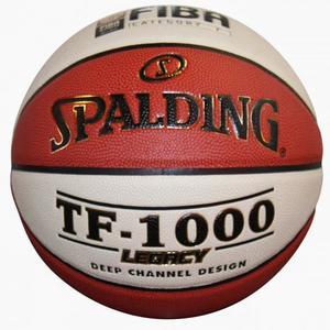 Basketball Spalding TF 1000 Legacy braun-weiß