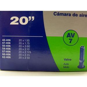 Schlauch Schwalbe (20x1,5-2,5) 7 AV-Ventil