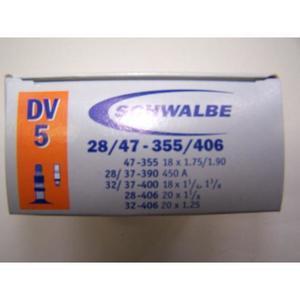 Schlauch Schwalbe (18x1,75-1 3/8) 5 DV-Ventil