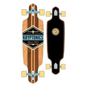 Longboard Kryptonics Cherokee 38'' schwarz-braun